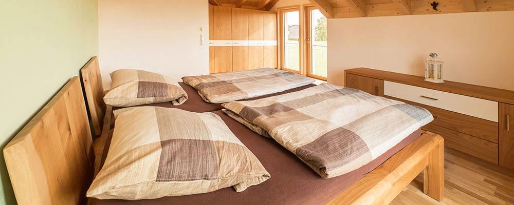 Schlafzimmermöbel Schreinerei Sontheimer Warmisried