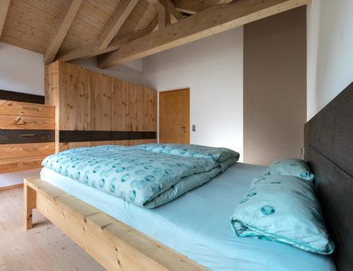 Schlafzimmer zum Entspannen und Erholen